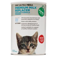 GNC Pets Ultra Mega Premium Milk Replacer Kitten Powder, 28-oz canister