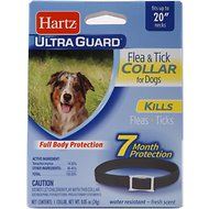 Hartz UltraGuard Flea & Tick Collar for Medium Dogs
