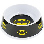 Buckle-Down Single Melamine Dog & Cat Bowl, Batman, 16-oz
