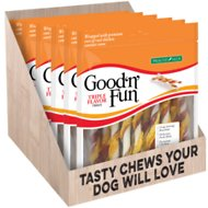 Good 'n ' Fun Triple Flavor Twist Sicks Dog Chews, 35 count
