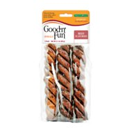 Good 'n' Fun Beefy Crunchy Spirals Dog Chews, 3 count