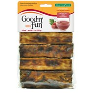 Good 'n' Fun Healthy Hide Beef Basted Ribs Dog Chews, 8 count