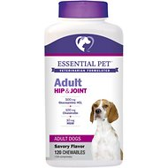 21st Century Essential Pet Hip & Joint Chewable Tablets Adult Dog Supplement, 120 count