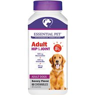 21st Century Essential Pet Hip & Joint Chewable Tablets Adult Dog Supplement, Age 5 & Up, 60 count