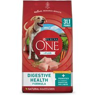 Purina ONE Smartblend Probiotic Digestive Health Formula Dry Dog Food, 31.1-lb bag
