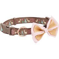 Blueberry Pet Christmas Reindeer Dog Collar, Medium