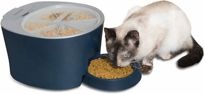 8. PetSafe Six Meal Automatic Pet Feeder