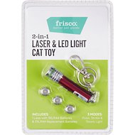 Frisco 2-in-1 Laser & LED Light Cat Toy