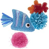 Frisco Fish Fun Catnip Cat Toy, 3-Pack