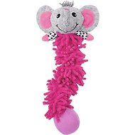 Frisco Puppy Lil' Romps Bungee Elephant Dog Toy