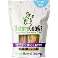 Nature Gnaws Large Breed Natural Chew Variety Pack Dog Treats, 12 count