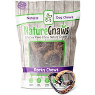 Nature Gnaws Porky Pretzels Dog Treats, 15 count