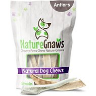 "Nature Gnaws Deer Antlers 4 - 5"" Dog Chews, 5 count"