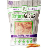 "Nature Gnaws Beef Tendon Bites 2 - 4"" Dog Treats, 24 count"