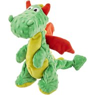 Frisco SqueakyBeasties Olive the Dragon Dog Toy