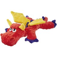 Frisco SqueakyBeasties Pepper the Dragon Dog Toy
