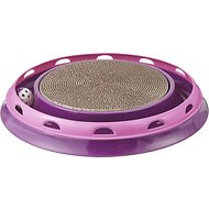 Frisco Scratch & Roll Scratcher Cat Toy with Catnip