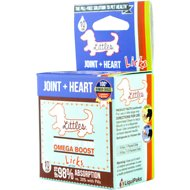 Licks JOINT + HEART Littles Mobility Aid Omega Boost Pill-Free Dog Supplement, 10 count