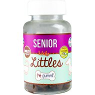 Licks SENIOR Littles Mobility Support & Omega 3 Pet Gummi Chewable Senior Dog Supplement, 45 count