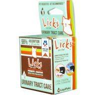 Licks URINARY TRACT CARE Promote + Maintain Infection Prevention Pill-Free Cat Supplement, 10 count