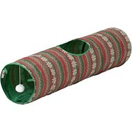 ASPCA Ugly Sweater Holiday Tunnel Cat Toy