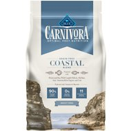 Blue Buffalo Carnivora Coastal Blend Grain-Free Adult Dry Dog Food, 4-lb bag
