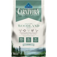 Blue Buffalo Carnivora Woodland Blend Kitten Grain-Free Dry Cat Food, 4-lb bag
