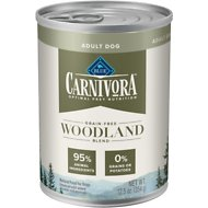 Blue Buffalo Carnivora Woodland Blend Grain-Free Adult Wet Dog Food, 12.5-oz, case of 12