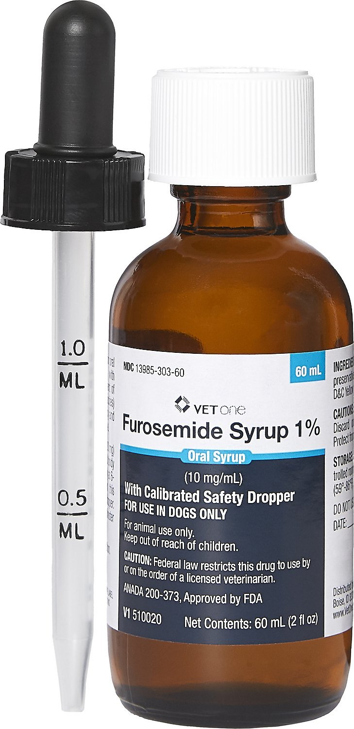 Furosemide Generic Syrup For Dogs 10 Mg Ml 60 Cc