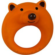 Smart Pet Love Puppy's First Brown Bear Latex Ring Dog Toy