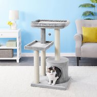 Frisco 42-in Heavy Duty Cat Tree, Gray