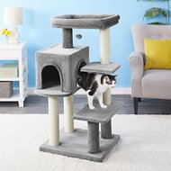 Frisco 48-in Heavy Duty Cat Tree, Gray