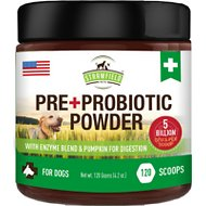 Strawfield Pets Pre + Probiotic Powder Dog Supplement, 4.2-oz jar