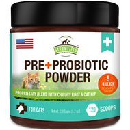 Strawfield Pets Pre + Probiotic Powder Cat Supplement, 4.2-oz jar