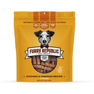 Furry Republic Sticks Chicken and Cheddar Recipe Dog Treats, 6-oz bag