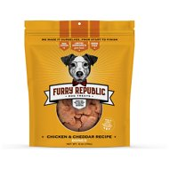Furry Republic Bones Chicken and Cheddar Recipe Dog Treats, 6-oz bag