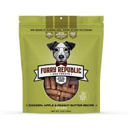 Furry Republic Sticks Chicken, Apple & Peanut Butter Recipe Dog Treats, 6-oz bag