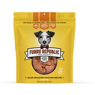 Furry Republic Bones Slow Roasted Chicken Recipe Dog Treats, 6-oz bag
