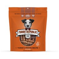 Furry Republic Sticks Turkey & Bacon Recipe Dog Treats, 6-oz bag