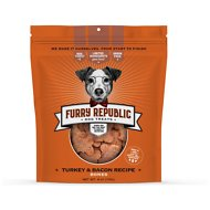 Furry Republic Bones Turkey & Bacon Recipe Dog Treats, 6-oz bag
