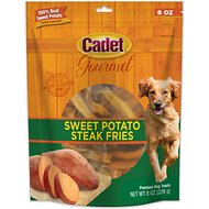 Cadet Gourmet Sweet Potato Steak Fries Dog Treats, 2-lb bag