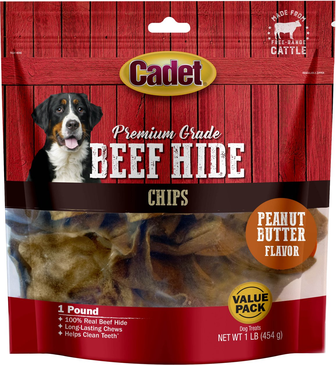 Cadet Gourmet Premium Grade Rawhide Chews for Dogs