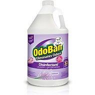 OdoBan Disinfectant Laundry & Air Freshener Concentrate, Lavender Scent, 1-gal bottle