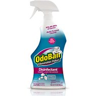 OdoBan Disinfectant Fabric & Air Freshener Spray, Cotton Breeze Scent, 32-oz bottle