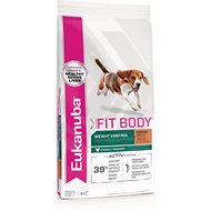 Eukanuba Fit Body Weight Control Chicken Formula Medium Breed Dry Dog Food, 30-lb bag