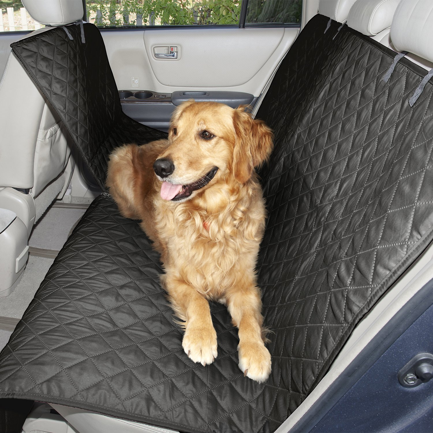 FurHaven Quilted Hammock Car Seat Cover