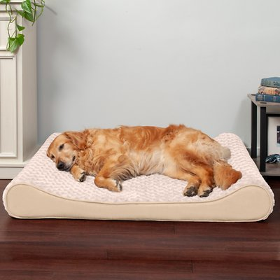 FurHaven Ultra Plush Luxe Lounger Orthopedic Cat & Dog Bed w/Removable Cover