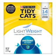 Tidy Cats Lightweight Scented Clumping Clay Cat Litter