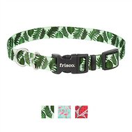 Frisco Fashion Dog Collar, 8 - 12 inches, Tropical Palm