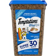 Temptations MixUps Surfers' Delight Cat Treats, 30-oz tub